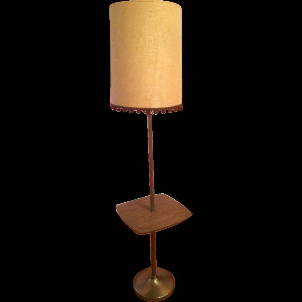 Classic Floor Lamp With Table