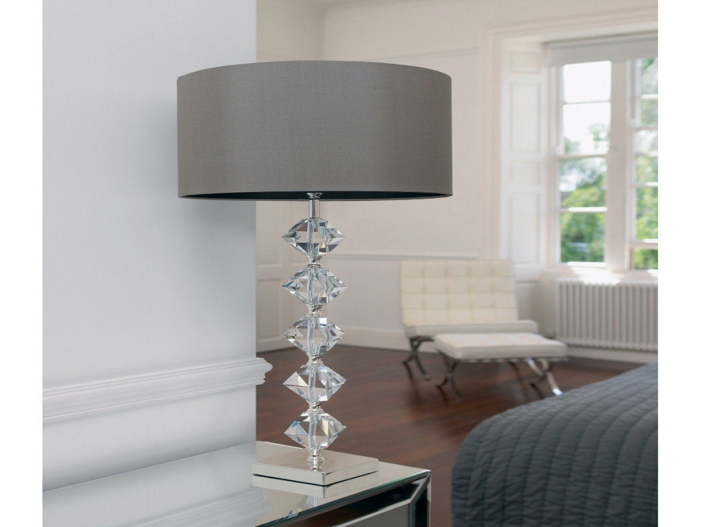 Picture of: Contemporary Crystal Table Lamps