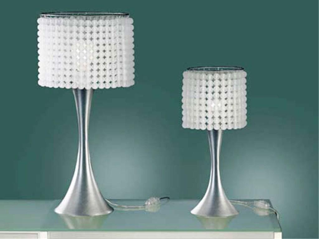 Picture of: Crystal Table Lamps for Bedroom