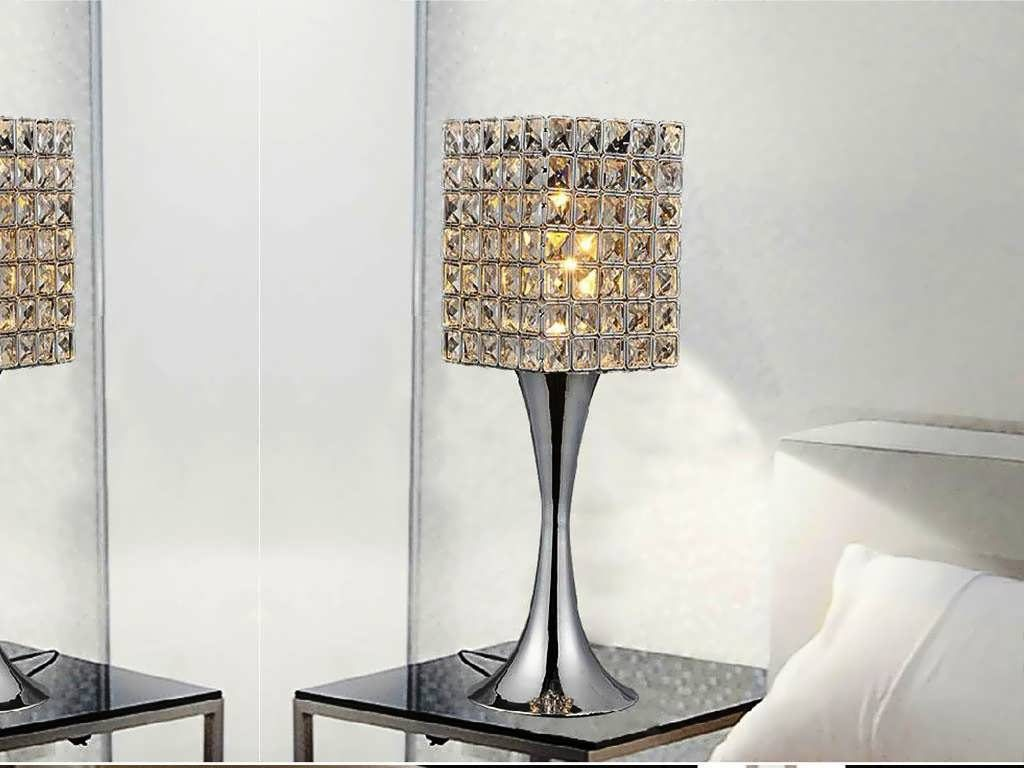 Picture of: Crystal Table Lamps