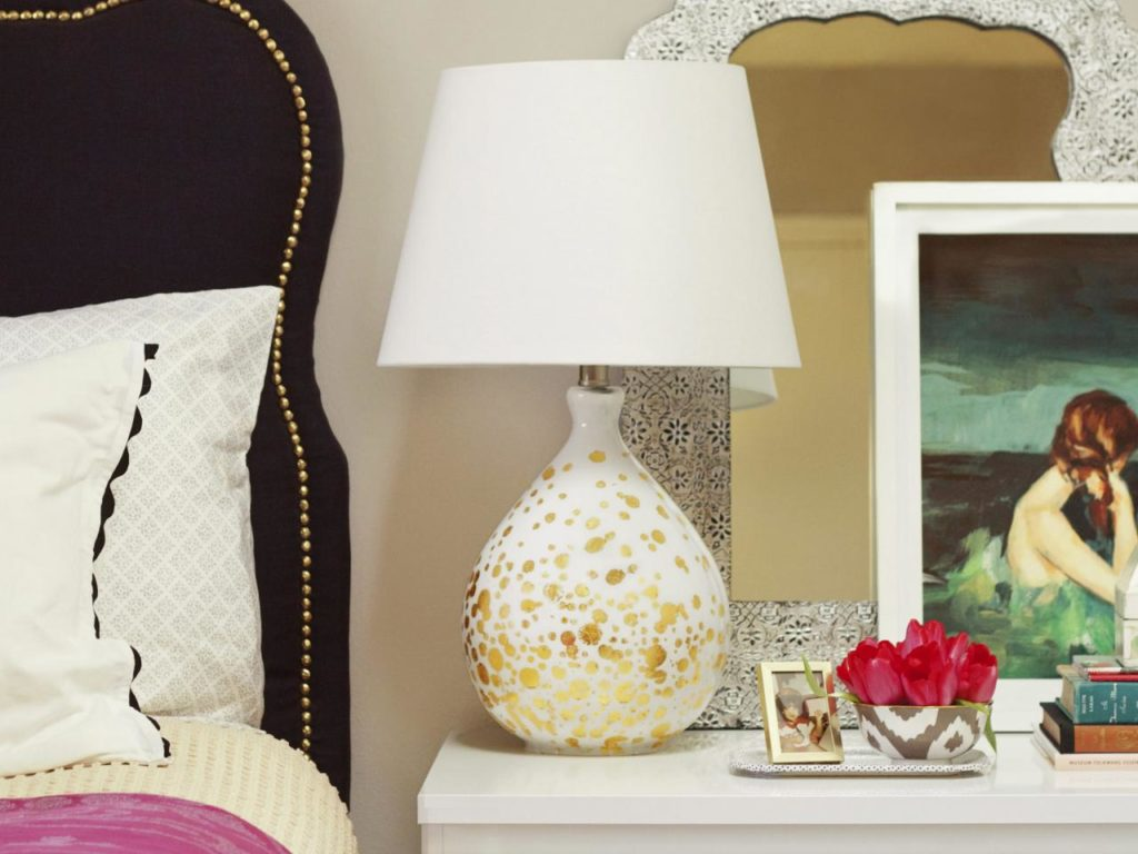 DIY Crystal Table Lamp Ideas