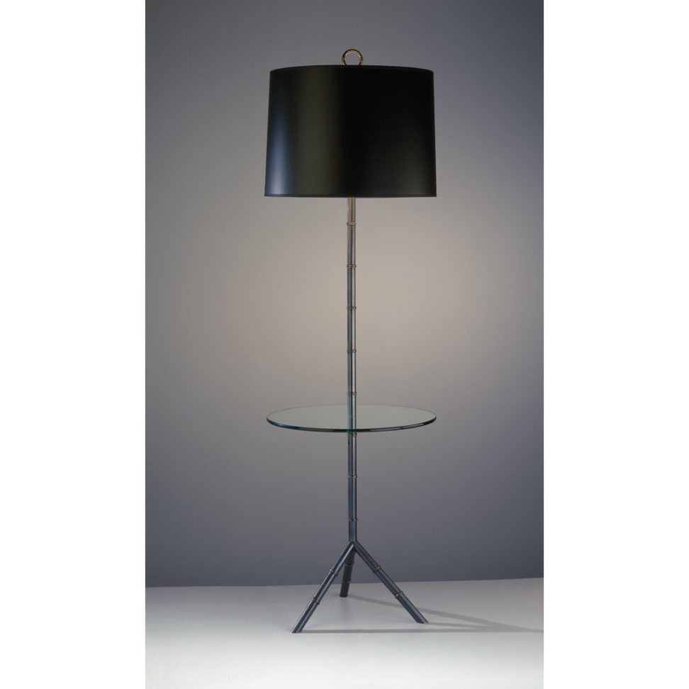 Picture of: Floor Lamp with Tables Ideas