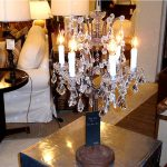 Calm Chandelier Table Lamp