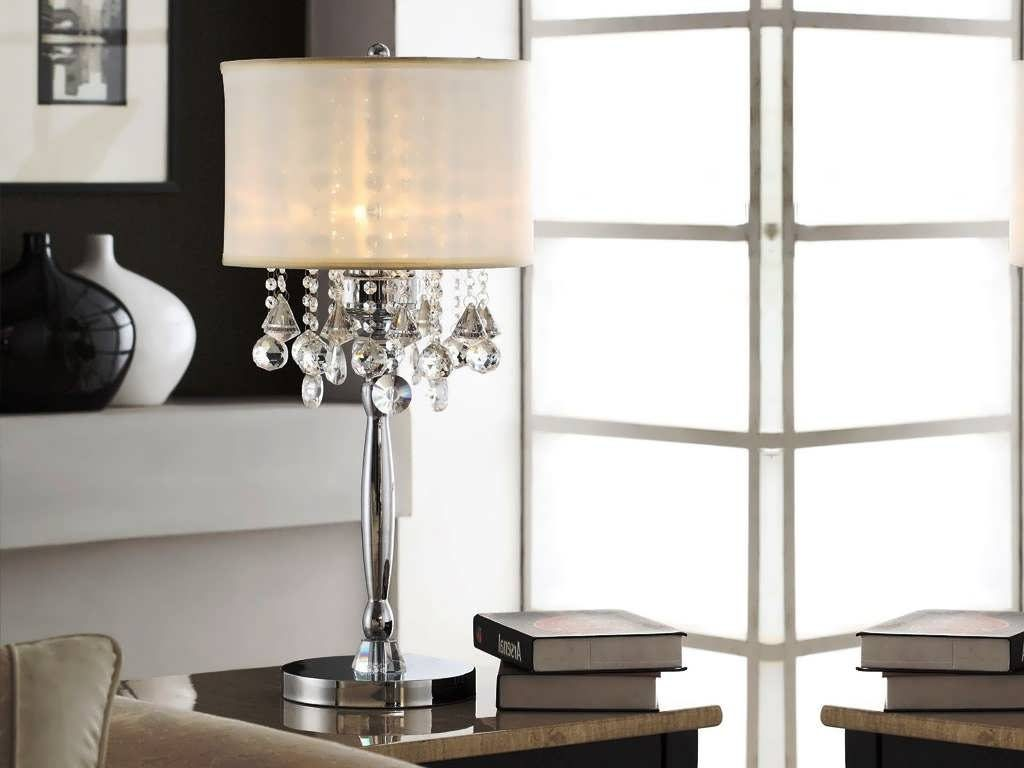 Picture of: Modern Crystal Table Lamps