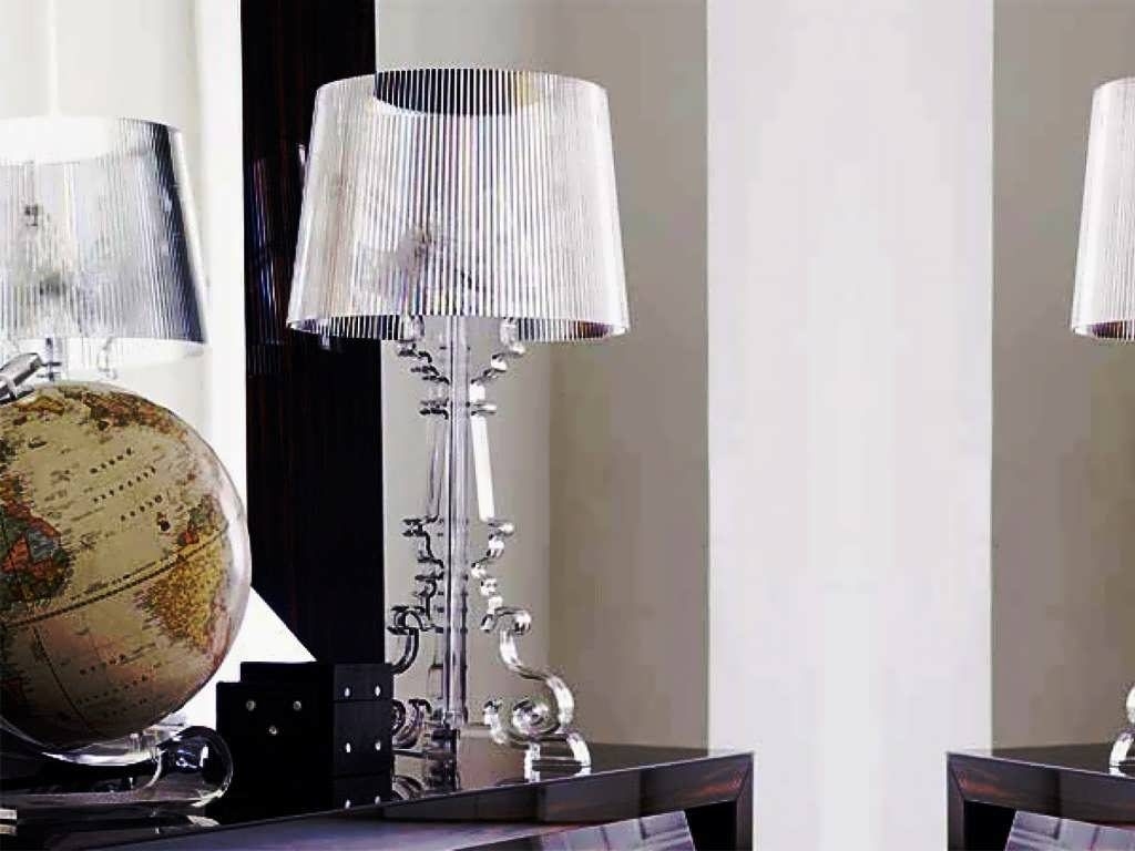 Picture of: Traditional Crystal Table Lamps