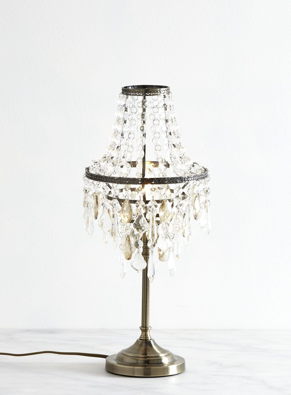 Top Chandelier Table Lamp