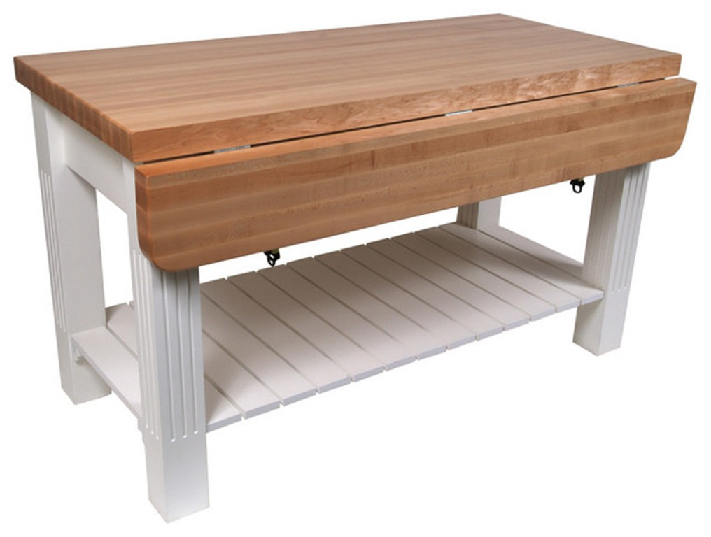 Picture of: Butcher Block Table Island