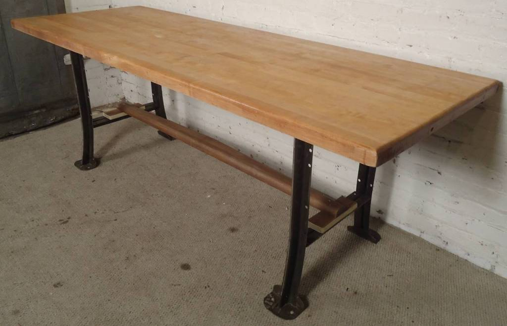 Picture of: Butcher Block Table Legs