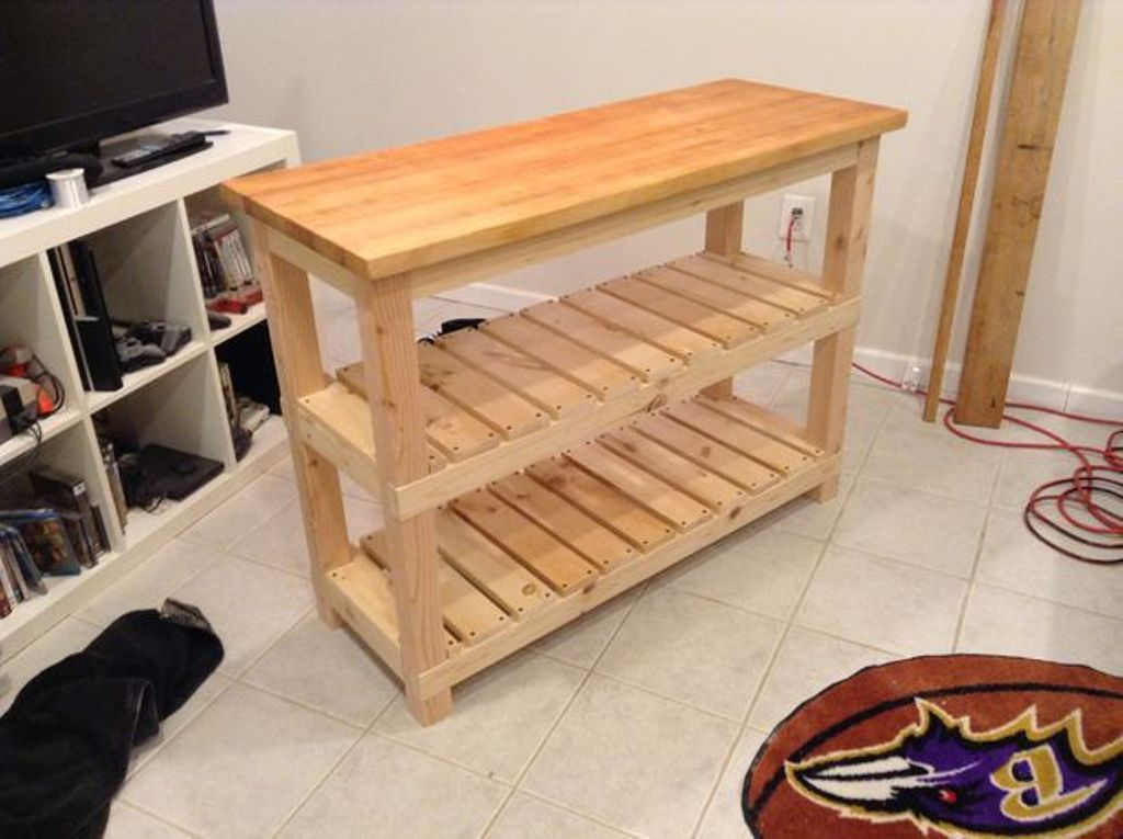 Picture of: Butcher Block Table Plans