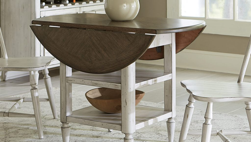 Image of: Drop Leaf Tables For Small Spaces
