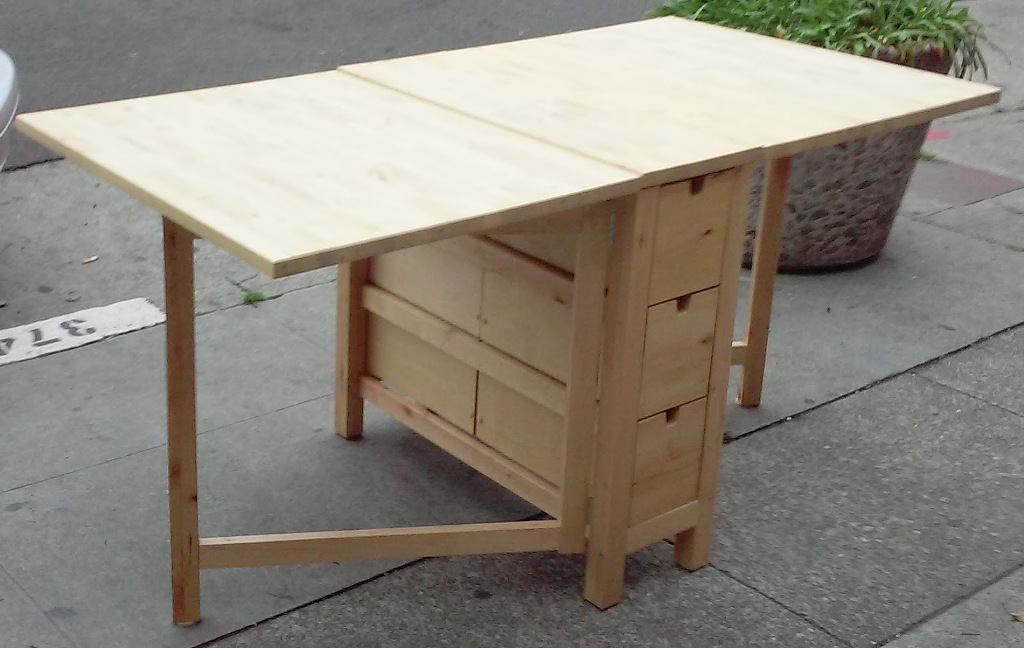Image of: Drop Leaf Tables Ikea