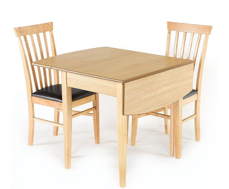 Picture of: Drop Leaf Tables With Folding Chairs