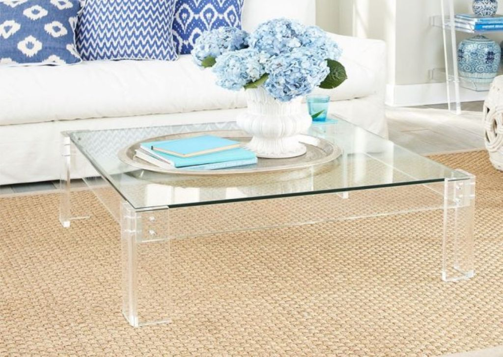 Image of: Lucite Coffee Table Ikea
