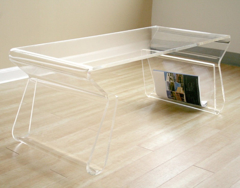 Image of: Lucite Coffee Table Overstock