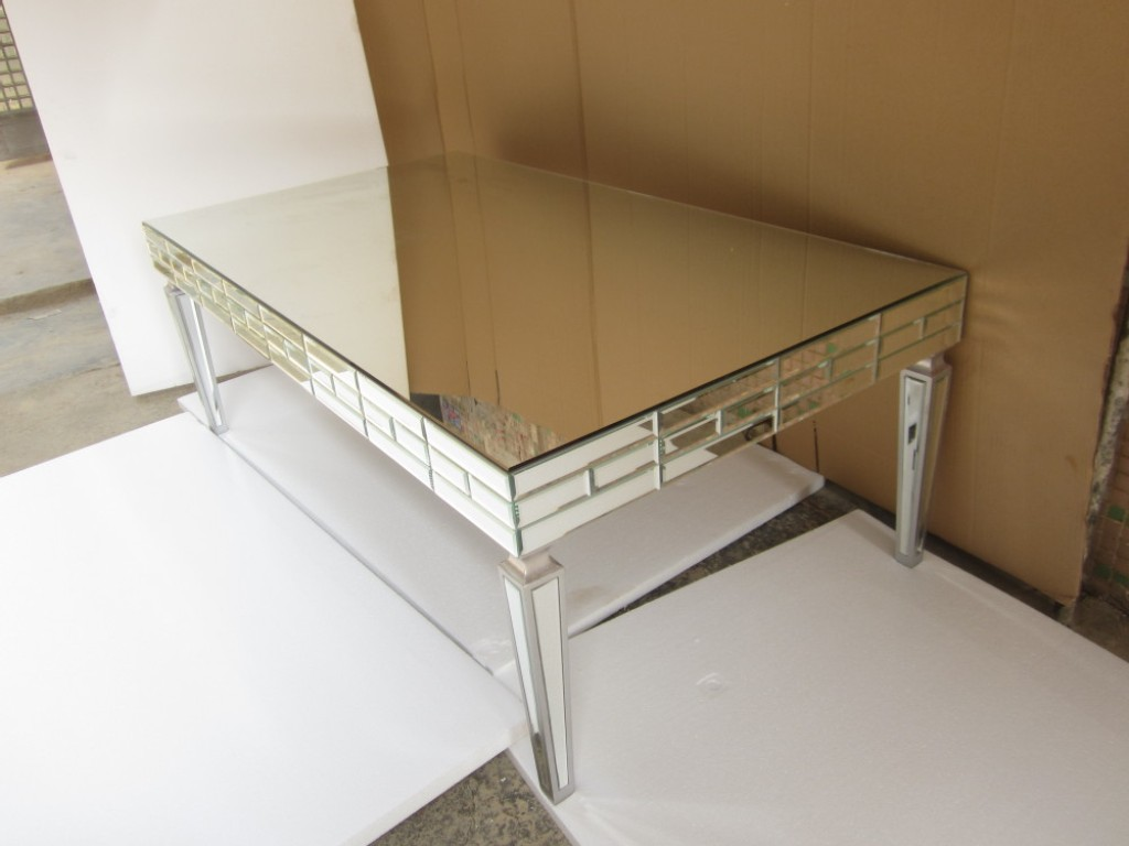 Image of: Mirror Coffee Table Ikea