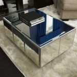 Mirrored End Table Diy
