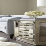 Mirrored End Tables Bedroom