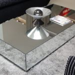 Modern Mirror Coffee Table