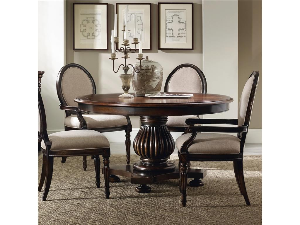 Picture of: 54 Round Dining Table and Chairs