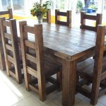 Amazing Teak Wood Solid Wood Dining Table Arts Bench Design
