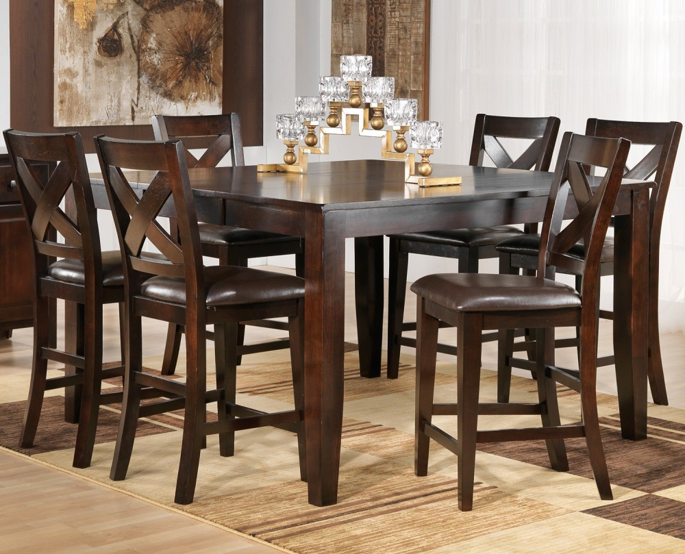 Picture of: Amazing Pub Dining Table Sets