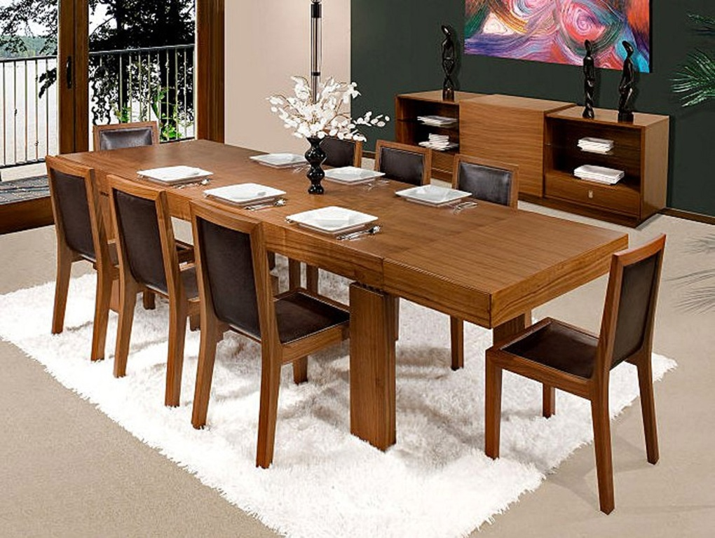 Picture of: awesome dining room table with leaf