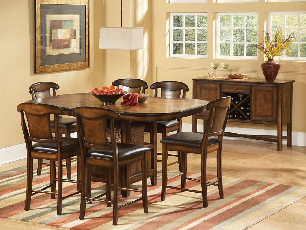 Picture of: Awesome Pub Dining Table Sets