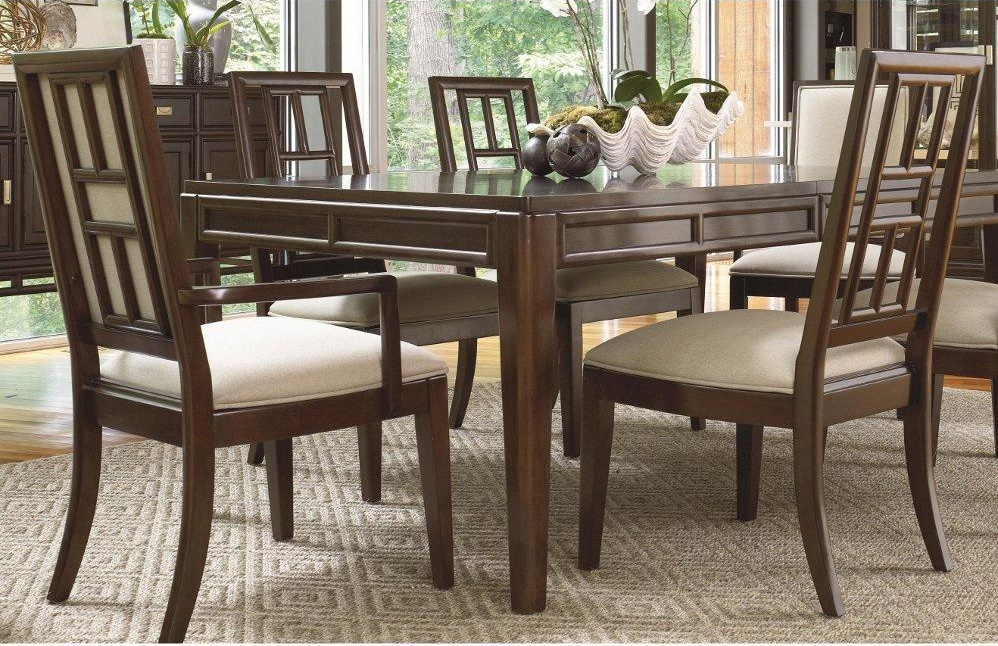 Image of: Awesome Thomasville Dining Table