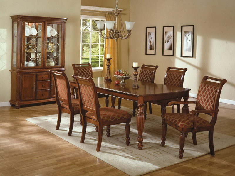 Image of: Beautiful Formal Dining Room Tables