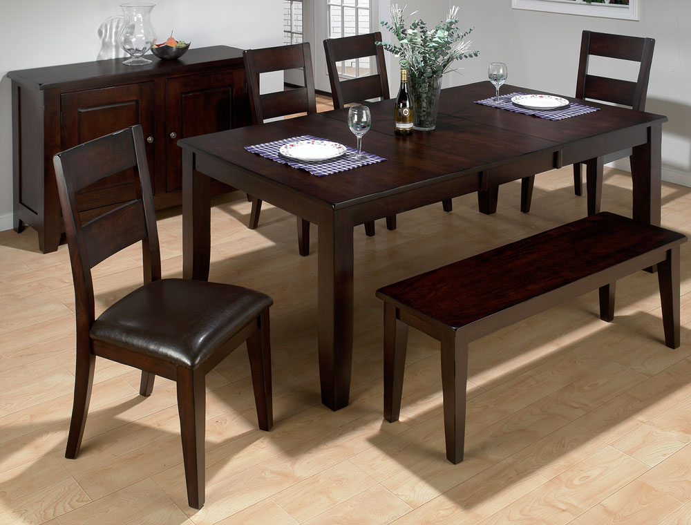 Image of: Benches for Dining Room Tables Set