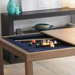 Indoor Dining Room Pool Table Combo