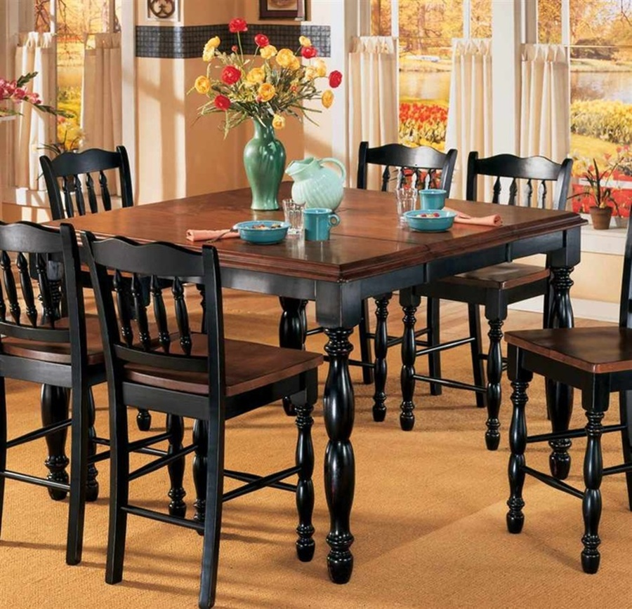 Image of: Best Thomasville Dining Table