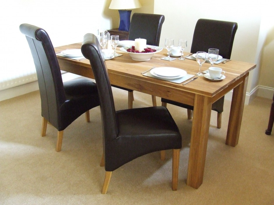 Picture of: Black Dining Room Table Protector