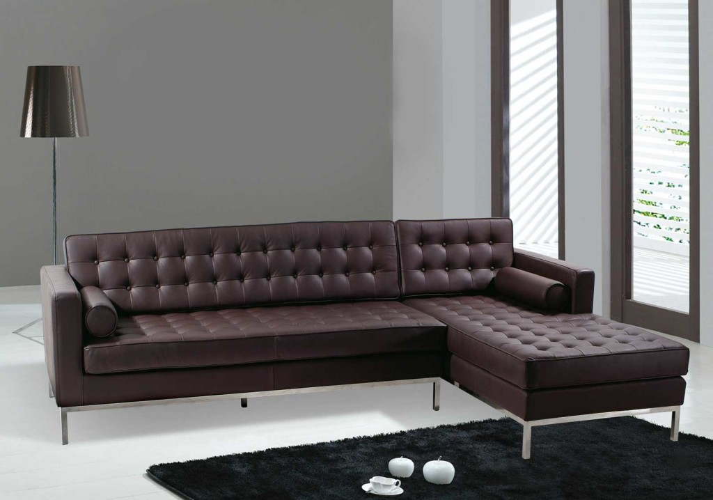 Picture of: Brown Sleeper Sofa Sectional