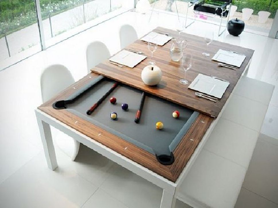 Image of: Bumper Dining Room Pool Table Combo Flint Area