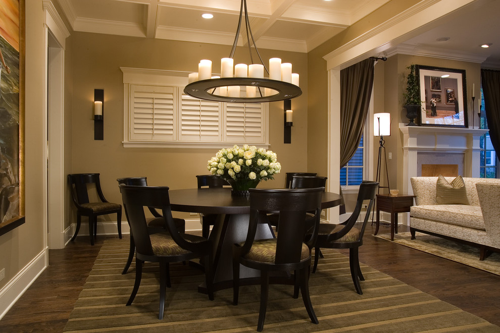 Picture of: contemporary dining room table with leaf design