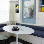 Corner Oval Dining Room Table