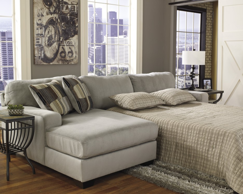 Picture of: Cozy Sleeper Sofa Sectional