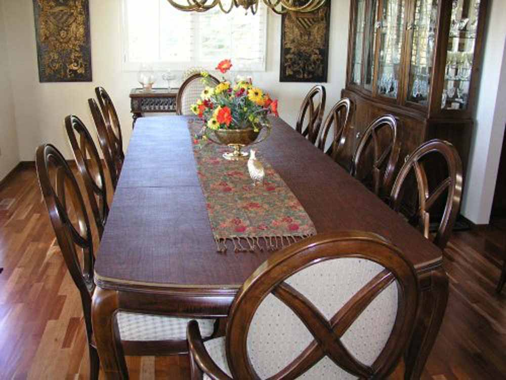 Picture of: Dining Room Table Protector Cover