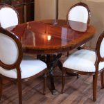 Dining Room Table With Leaf Design
