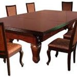 Dinner Dining Room Pool Table Combo Ideas