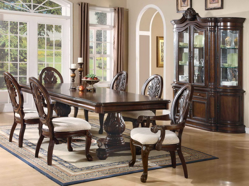 Image of: Elegant Formal Dining Room Tables