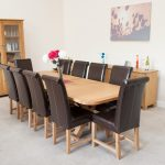 European Square Dining Table Seats 8
