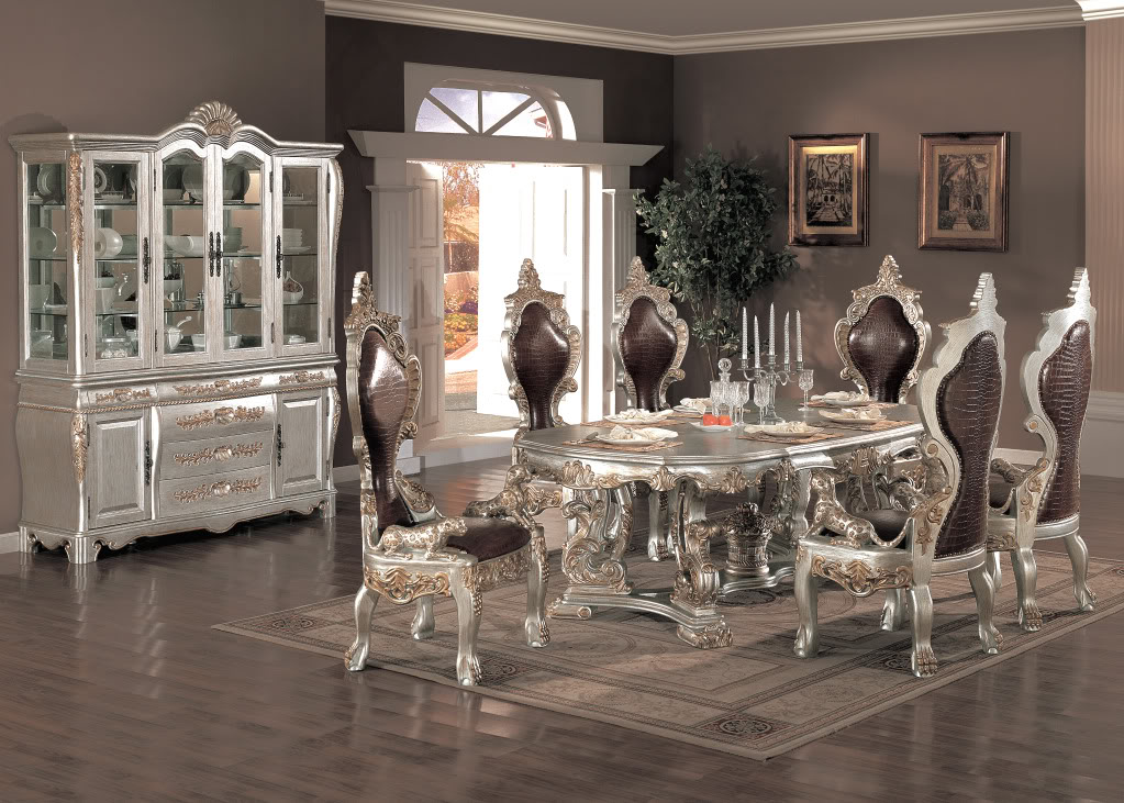 Image of: Fancy Formal Dining Room Tables