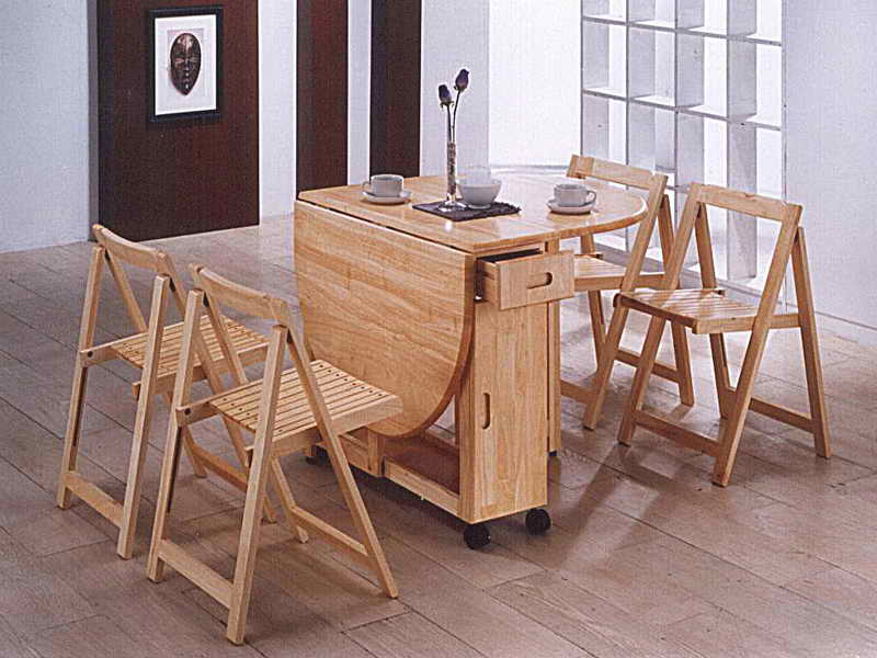 Picture of: folding dining room table ideas