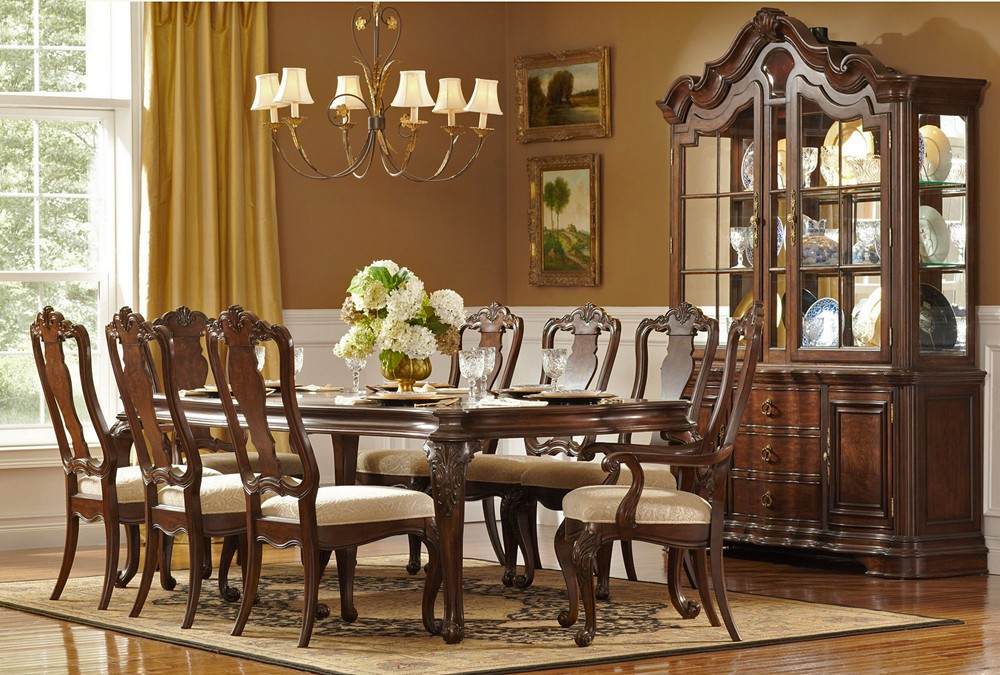 Image of: Formal Dining Room Tables Decor