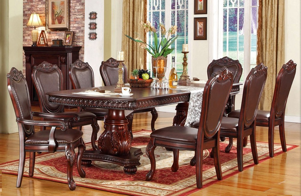 Image of: Formal Dining Room Tables Glass