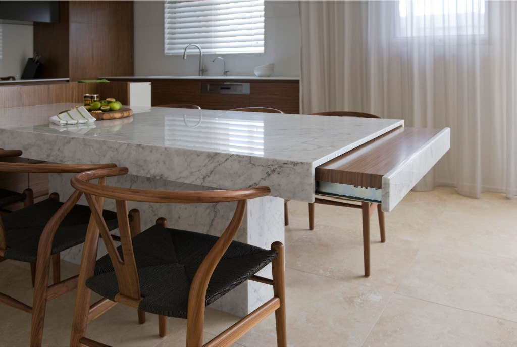 Picture of: Granite Top Dining Table Set Design