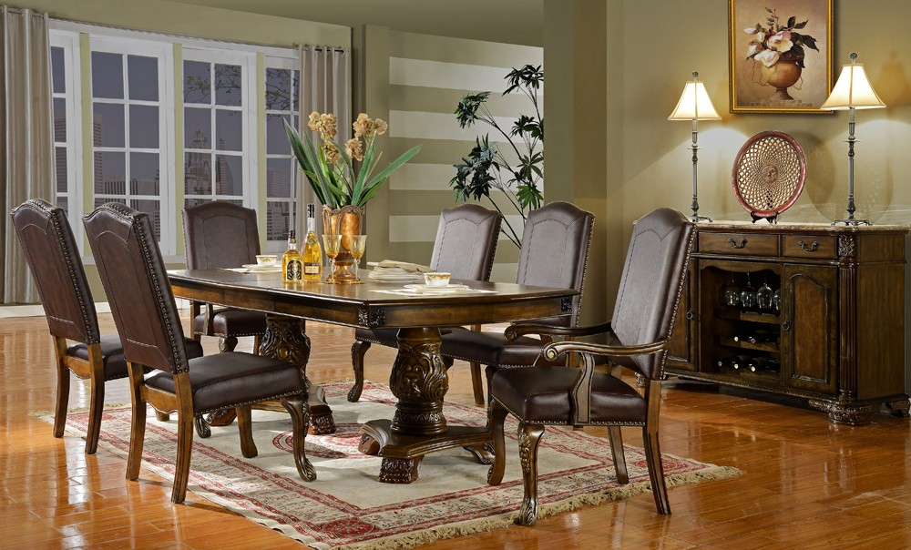 Image of: Ideas Formal Dining Room Tables