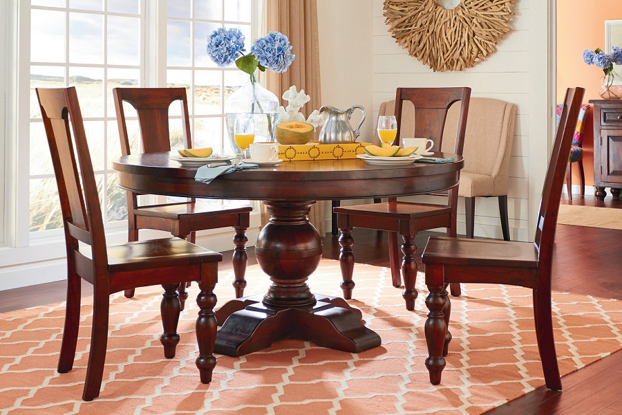 Picture of: Interior 54 Round Dining Table